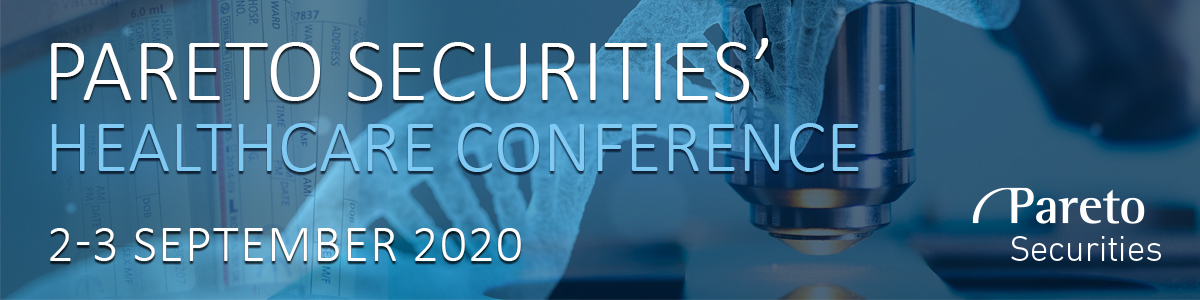 Header image for  Pareto Securities' 11th Annual Healthcare Conference