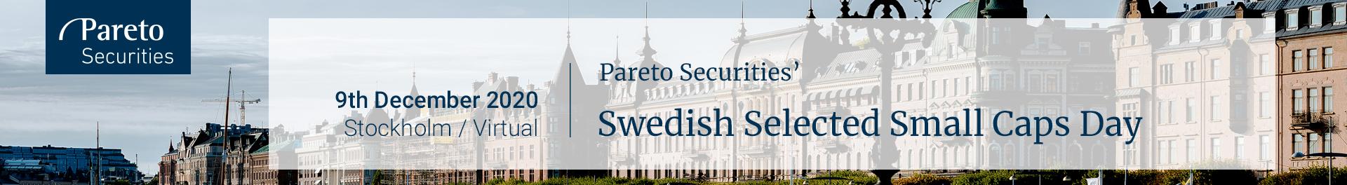 Huvudbild för Pareto Securities' Swedish Selected Small Caps Day
