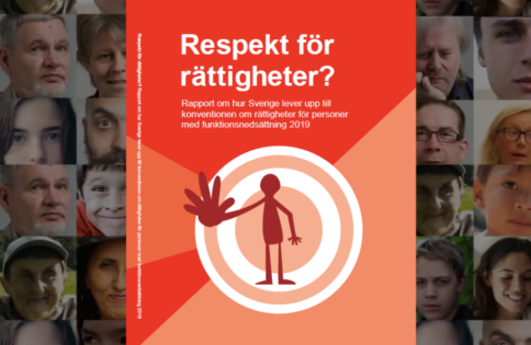 Bild på omslaget till rapporten Respekt för rättigheter?