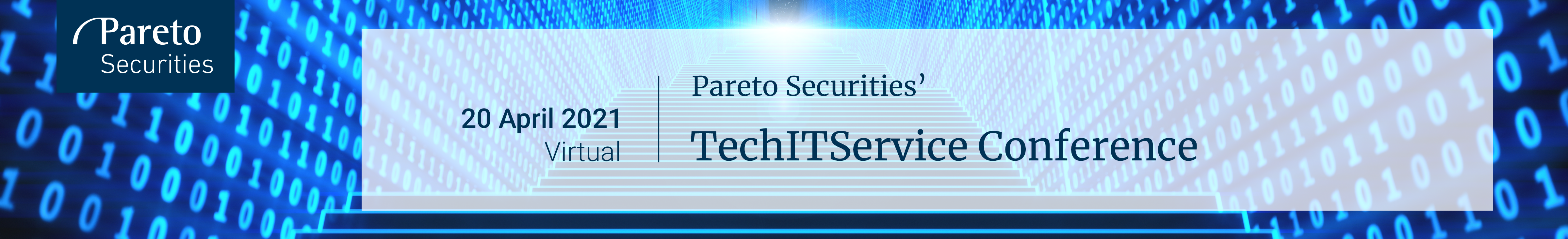 Header image for Pareto Securities' NordicDACH Virtual TechITService Conference 2021
