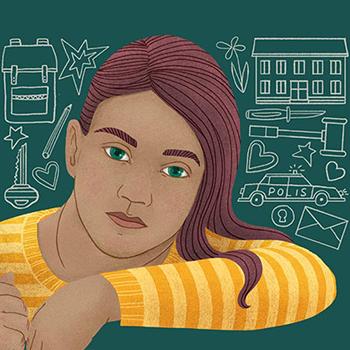 Profilbild för Min tur att berätta – barns röster om att leva med våld