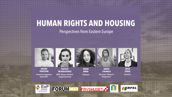 Profilbild för Human rights and housing – perspectives from Eastern Europe