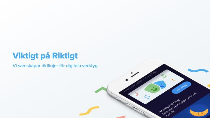 Profilbild för Viktigt på riktigt - vi samskapar riktlinjer för digitala verktyg