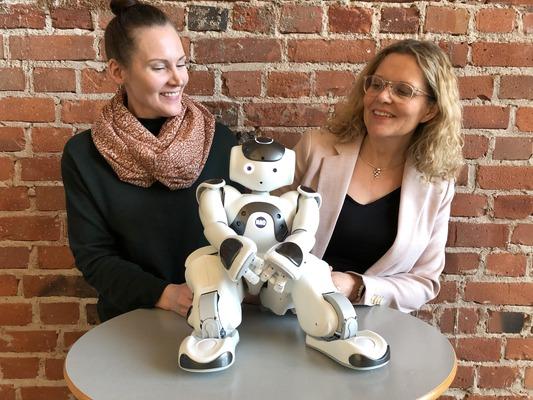 Profilbild för Humanoida robotar i vården av äldre människor