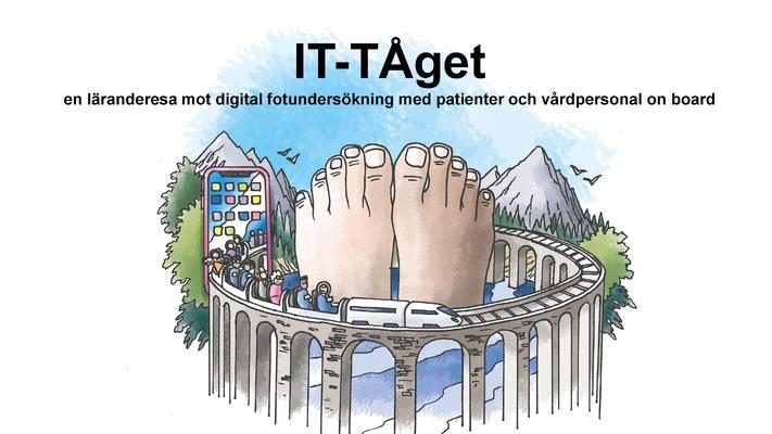 Profile image for IT-TÅget, en läranderesa mot digital fotundersökning med patienter och vårdpersonal on board