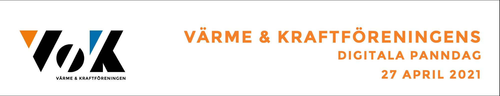Huvudbild för VÄRME- & KRAFTFÖRENINGENS DIGITALA PANNDAG 27 APRIL 2021
