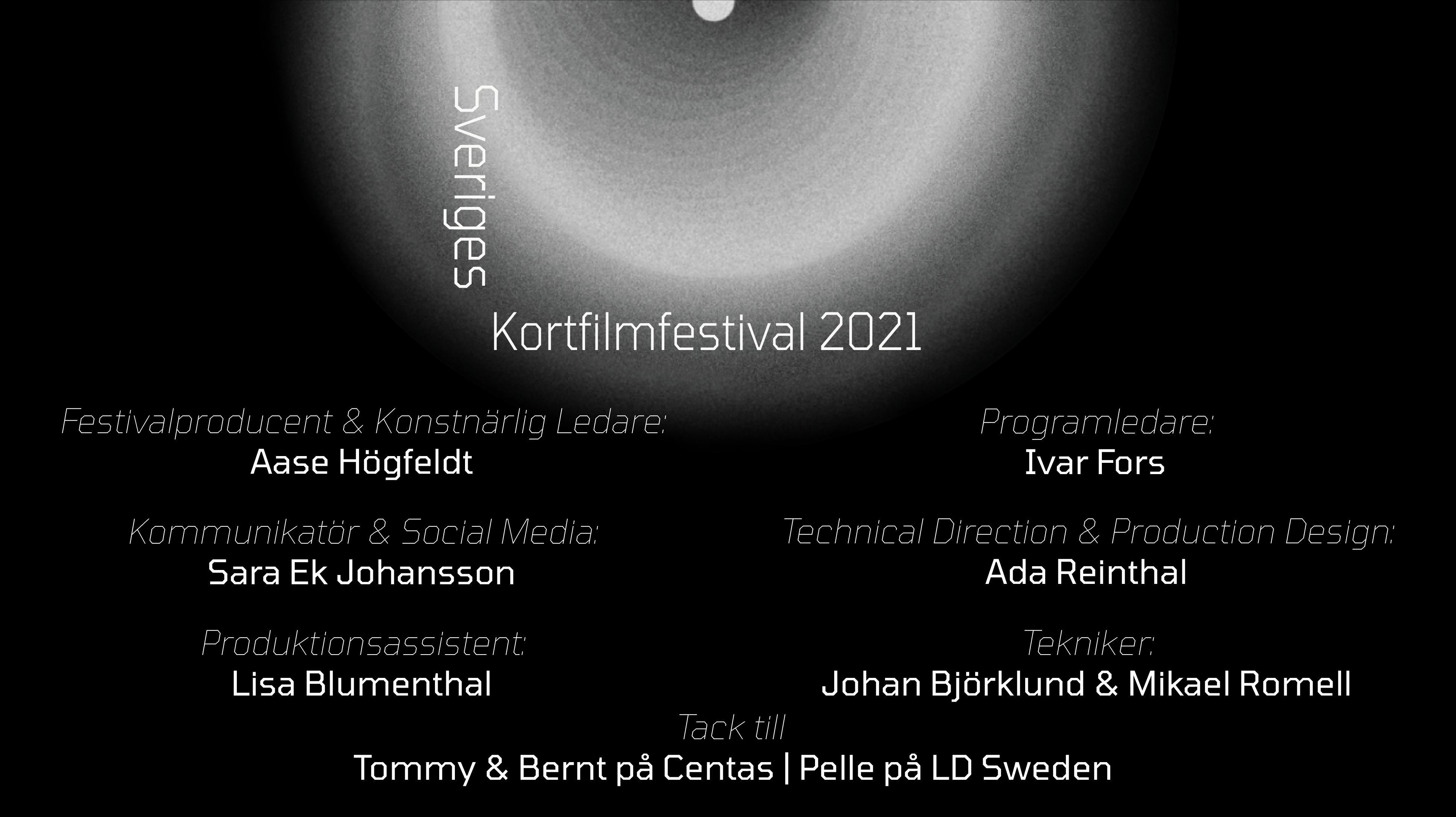 Huvudbild för Sveriges Kortfilmfestival