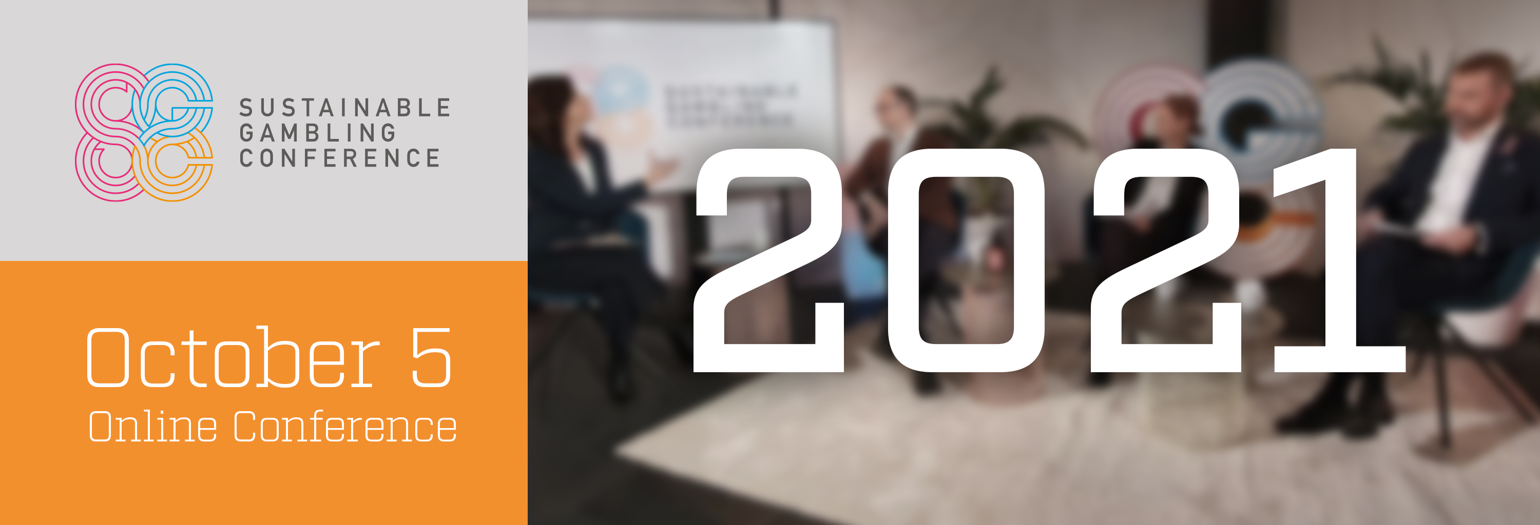 Header image for Sustainable Gambling Conference 2021